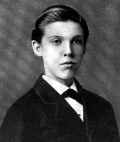 Charles Evans Hughes, age 16
