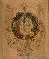 Charles Rochussen - Engelengroep met bloemkrans (dessus de porte) - SA 2107 - Amsterdam Museum.jpg
