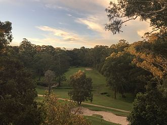 Chatswood West, New South Wales - Image: Chatswood golf course