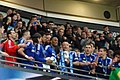 Chelsea 2 Spurs 0 - Capital One Cup winners 2015 (16668074436).jpg
