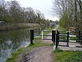 Chesterfield Canal - Fishing in the Rain - geograph.org.uk - 771088.jpg