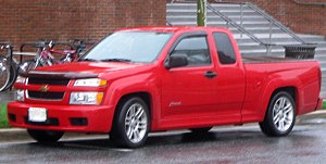 Chevrolet Colorado - Chevrolet Colorado Xtreme extended cab