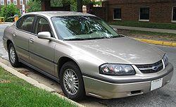 7th-gen Chevrolet Impala LS