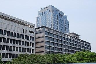 Chūō-ku, Chiba - Chiba prefectural offices