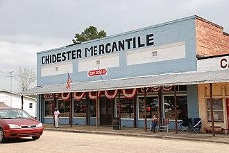 Chidester, Arkansas - Chidester Mercantile on Main St