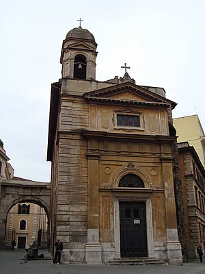 Santi Vito, Modesto e Crescenzia - Facade of church