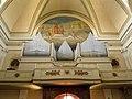 Chiesa di San Pietro Apostolo, interno, cantoria e organo (Roveredo di Guà).jpg