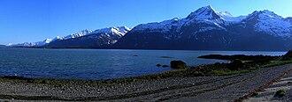 Chilkat Range - Chilkat Range from south of Haines