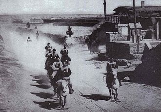 Honghuzi - Honghuzi during the Battle of Mukden