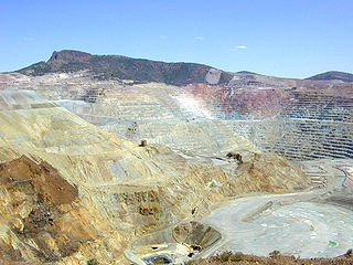 Copper extraction Process of extracting copper from the ground
