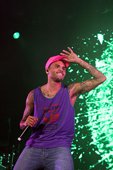 Chris Brown nel 2012