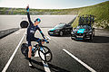 Chris Froome - The First Man to Cycle through the Eurotunnel (14613677253).jpg