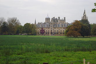 Christ Church from the south- east across Christ Church Meadow ChristChurchMeadow.JPG