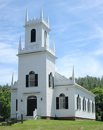 Guilford, Vermont - Christ Church, built in 1817 (2013)