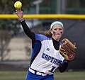 Christopher Newport University Captains Virginia Va. DePauw University Tigers Greencastle Indiana women's NCAA softball (17158698457).jpg