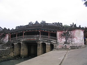 Japanese bridge, the symbol of Hội An