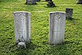 Church of St Andrew, Nuthurst, West Sussex - L. T. Wylie and M. Hayes CWGC gravestones.jpg