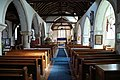Church of St Mary the Virgin, Woodnesborough, Kent - nave looking east 01.jpg