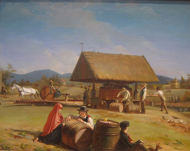 File:Cider Making by William Sidney Mount, 1840-1841.JPG
