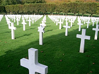 Meuse-Argonne Offensive - American Cemetery at Romagne-sous-Montfaucon
