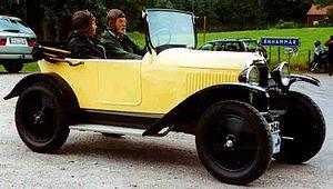 Citroën Type C - Citroën 5 CV Type C2 Torpedo 1923