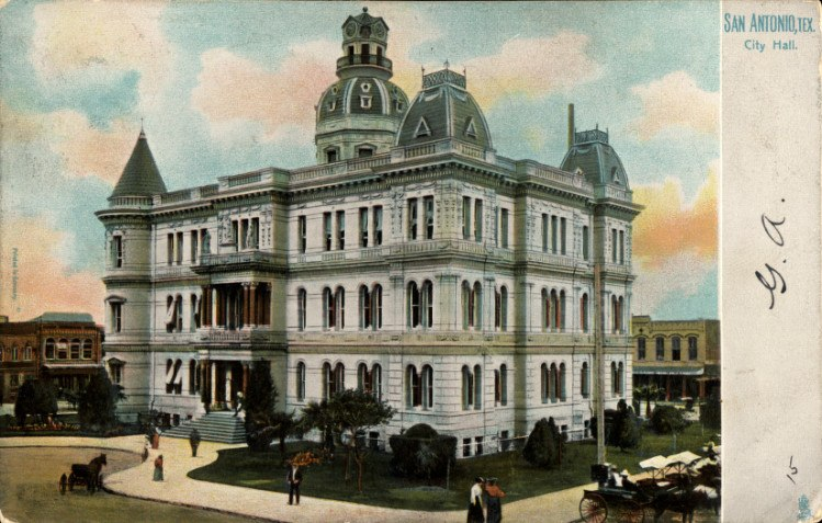 City Hall, San Antonio, Texas (1906)