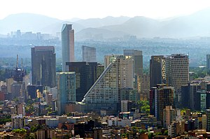 Metropolitan areas of Mexico - 1 - Mexico City, D. F..