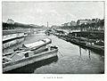 Clément Maurice Paris en plein air, BUC, 1897,006 Le canal de la Bastille.jpg