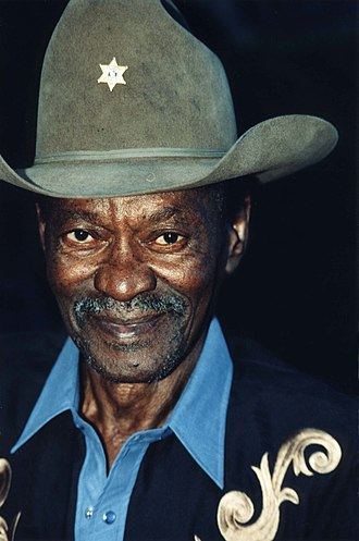 "Clarence ""Gatemouth"" Brown - Brown in 1999"