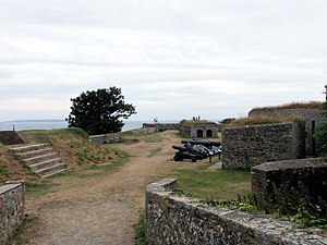 Fort George, Guernsey - Clarence Battery at Fort George