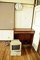 Class room clock, educational organ, and NEC PC-9821, old Sakuma elementary school, 2010-06-18.jpg