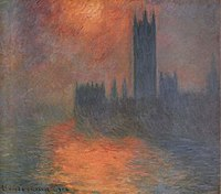 Houses of parliament monet series wikipedia for Les chambres a coucher