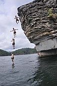 Deep-water soloing
