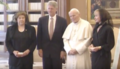 Clintons meet pope in 1994 U.png
