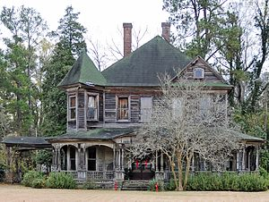 National Register of Historic Places listings in Marlboro County, South Carolina - Image: Clio Historic District Sternberger Welch Hamer House