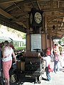 Clock on Bewdley Station - geograph.org.uk - 1454668.jpg