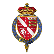 Coat of Arms of Sir John Howard, 1st Duke of Norfolk, KG.png