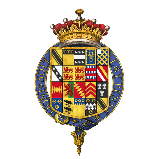 Coat of arms of Robert Harley, 1st Earl of Oxford and Earl Mortimer, KG Coat of arms of Robert Harley, 1st Earl of Oxford and Earl Mortimer, KG.png
