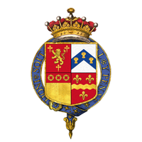 Coat of arms of William Capell, 3rd Earl of Essex, KG, PC Coat of arms of William Capell, 3rd Earl of Essex, KG, PC.png