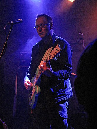 Colin Newman - Newman performing in November 2011