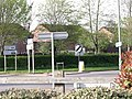 Collection of road signs at Tiverton - geograph.org.uk - 2410585.jpg