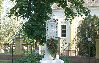 Comloșu Mare - Image: Comlosu Mare Centrer Town