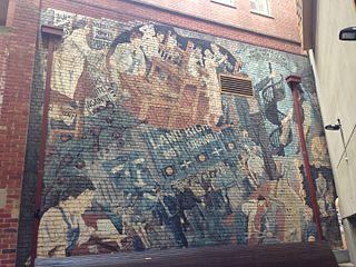 Community Art Workers Mural