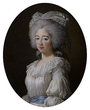 Marie Joséphine of Savoy - Marie Joséphine by Vigée-Le Brun in 1782