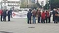 Concentración 21 marzo El palacio de San Telmo es la sede de la Presidencia de la Junta de Andalucía 1.jpg