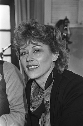 Conny Vandenbos in 1981