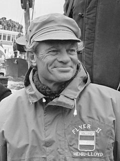 Conny van Rietschoten Dutch yacht racer