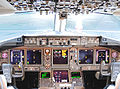 Continental Airlines Boeing 767-424ER flight deck LCDs.jpg
