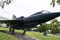 Convair YF2Y-1 Sea Dart 135765 RSide BetweenTrees FLAirMuse 29Aug09 (14597681384).jpg