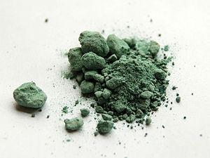 Copper(I) bromide - Image: Copper(I) bromide sample